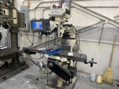 JET Mill, 3 phase, 480v, 3HP, 2019 motor, ACU_Rite automatic, Kurt Vice AD690, Kool Mist coolant