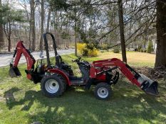 2013 Mahindra Max 28XL 4wd, Backhoe MB63 & Front Bucket , Approx 87 Hours