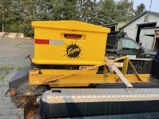Fisher speed caster 2 stage spreader 12V truck mounter SN: 205063 (Buyer responsible for disconnecti