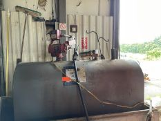 250 Gallon tank with FillRite, FR701V pump 115V, no concrete enclosure