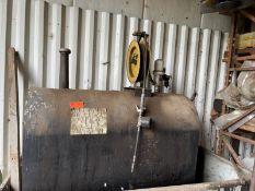 Graco oil pump mini fire ball pump 230 gallon, empty