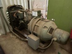 Stand-by generator with gas tank, Hercules straight 6 with US electric genrator 30