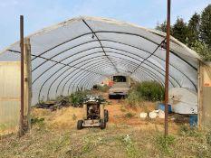 Greenhouse 27' wide 28 hoops
