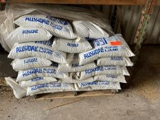 AllynDale pelletized lime 40-50 bags