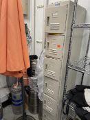 GSW Six compartment locker