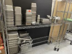 Stainless Steel inserts & box of tops