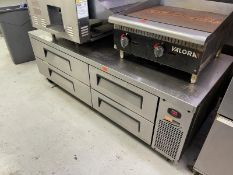 """Turbo Air refrigerated grill base, 4 drawers, 72"""" long, Model: TCBE-72SDR"""