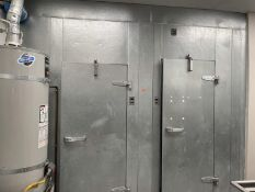 """Commercial walk-in cooler/freezer, 2017, untested, 11'W x 92""""D"""