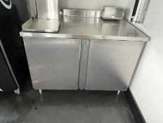 """Atlantic Culinary Equipment stainless steel beverage counter, M: CTD-P3048H, 48""""w x 30""""d"""