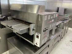 Nieco Briolvection oven, 2017, natural gas, M: JF63-2G
