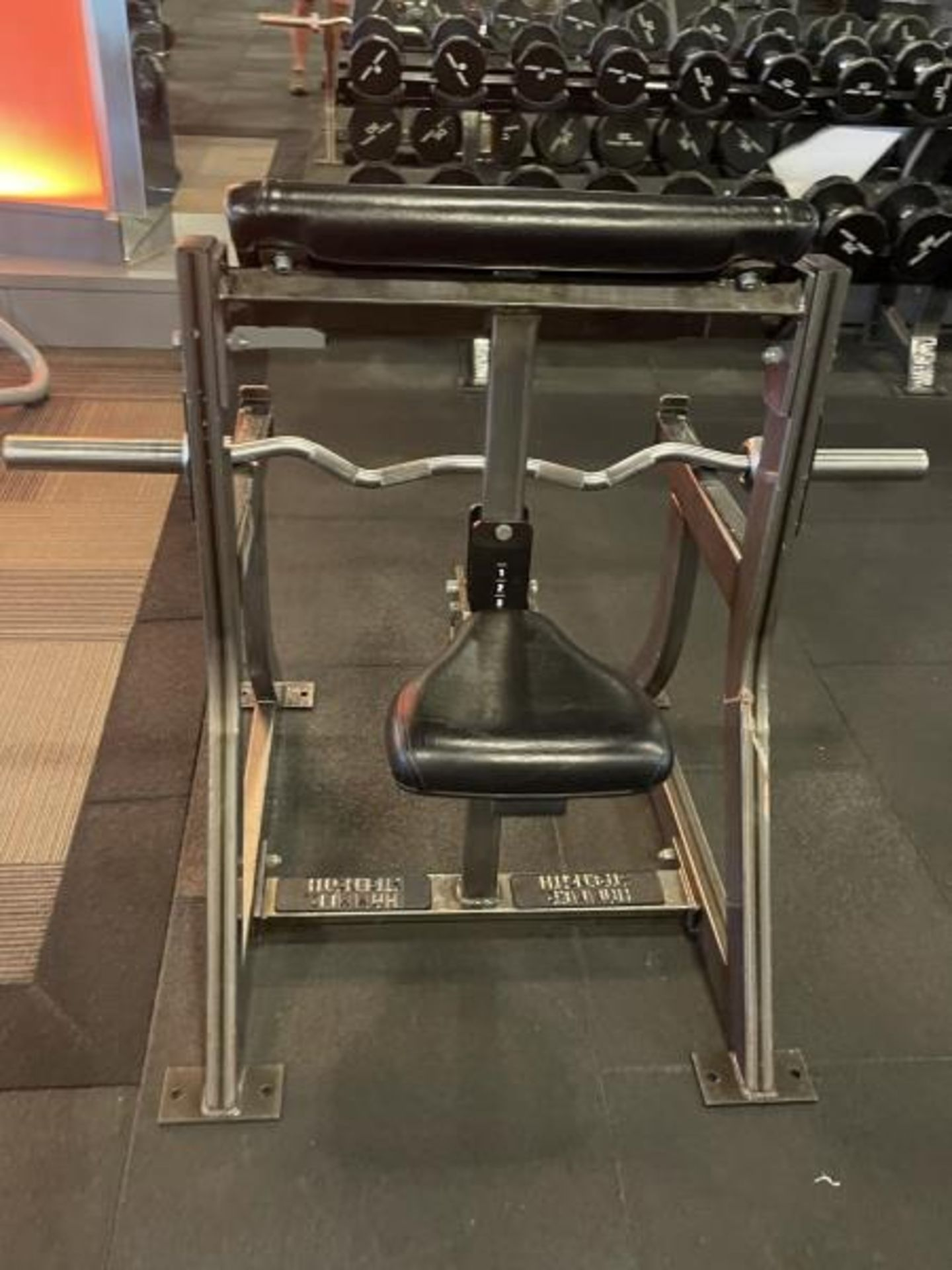 Hammer Strength Bicep/Preacher Curl Bench with Curl Bar M:B01 - Image 4 of 4