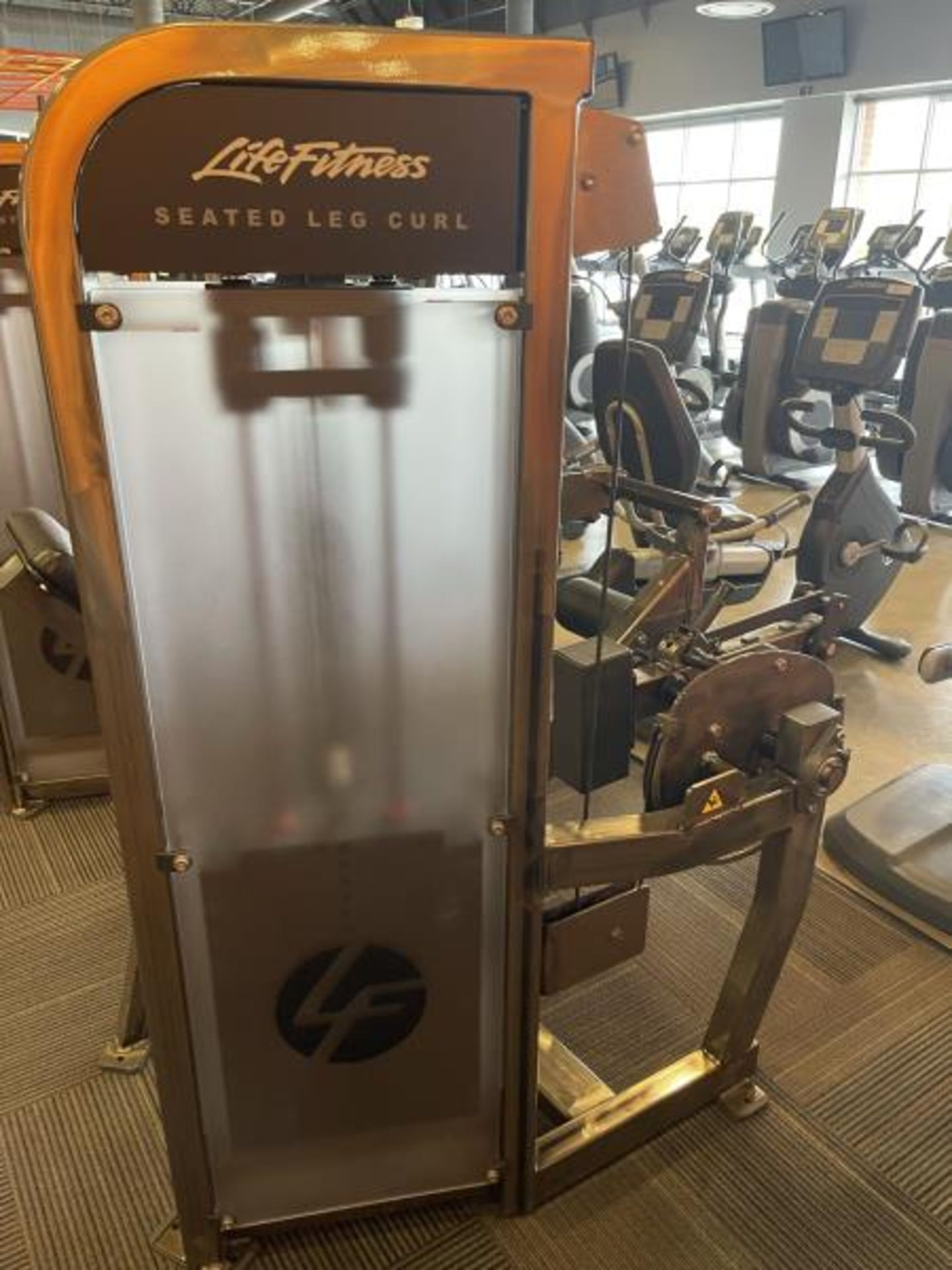 Life Fitness Seated Leg Curl M: PSSLCSE - Image 4 of 6