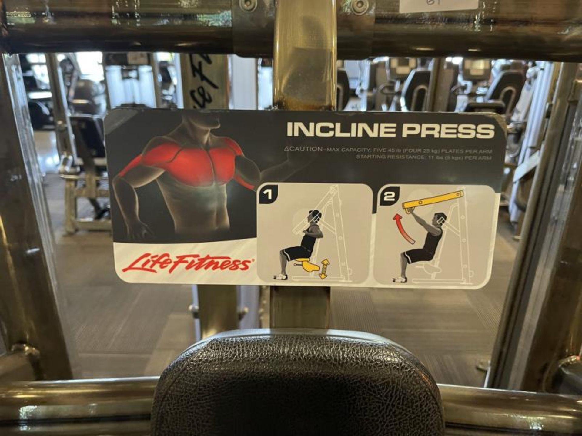 Incline Press with Iron Grip Weight Plates M: SPLIP - Image 6 of 6
