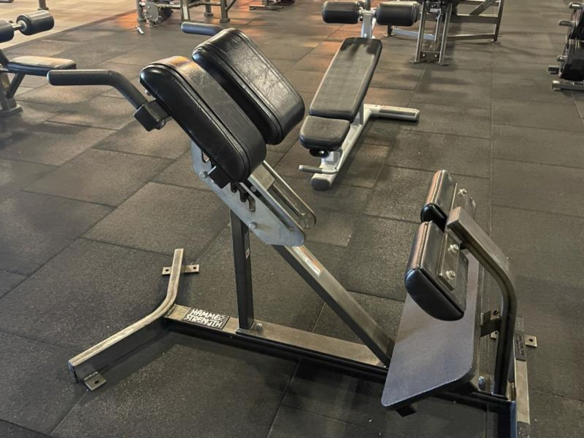 Hammer Strength Hyperextension Back Extension M: BWBE
