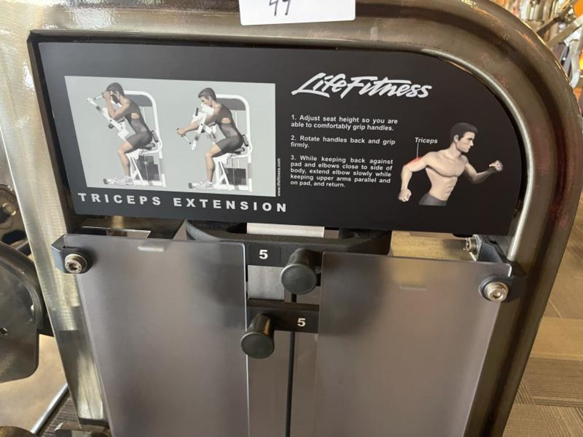 Life Fitness Biceps Curl Extension M: PSTESE - Image 5 of 7