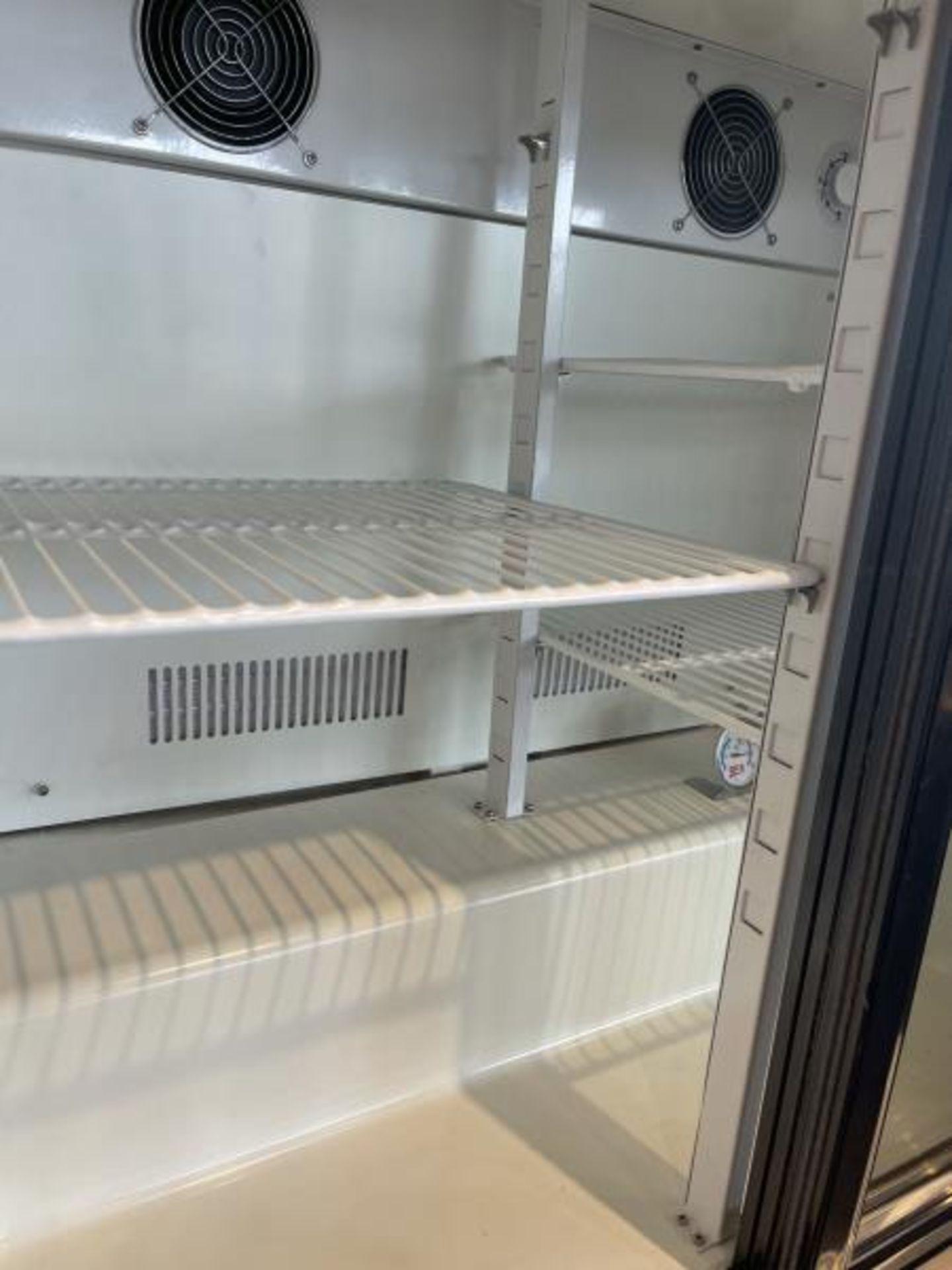 Sliding Glass Door Refrigerator, Countertop - Image 2 of 2