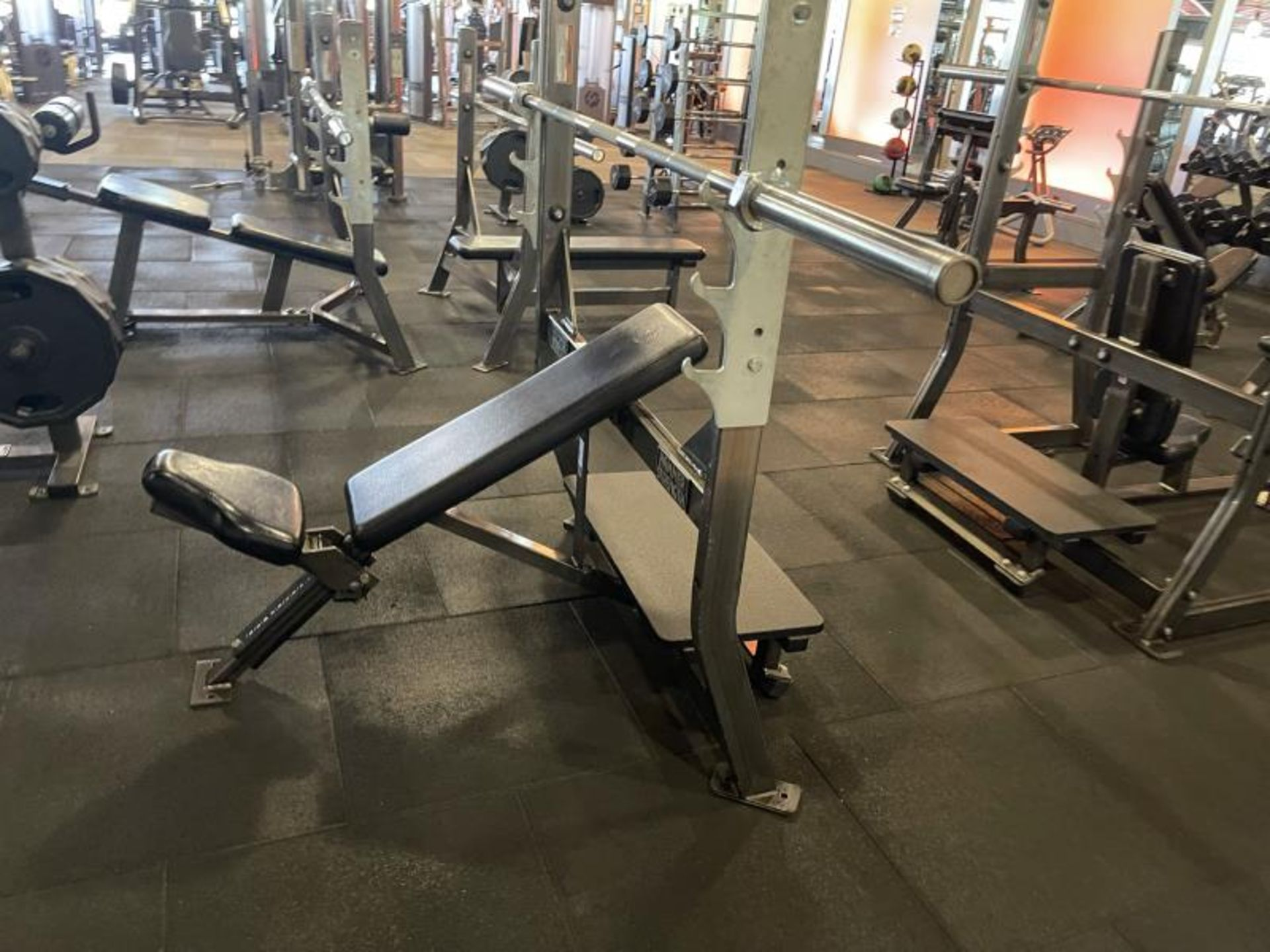 Hammer Strength with Bench, Rack, Bars - Image 2 of 5