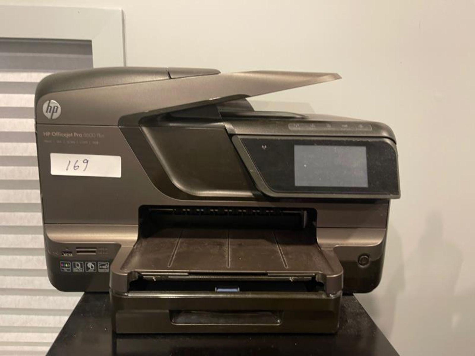 HP Officejet Pro 8600 Plus, no cartridges