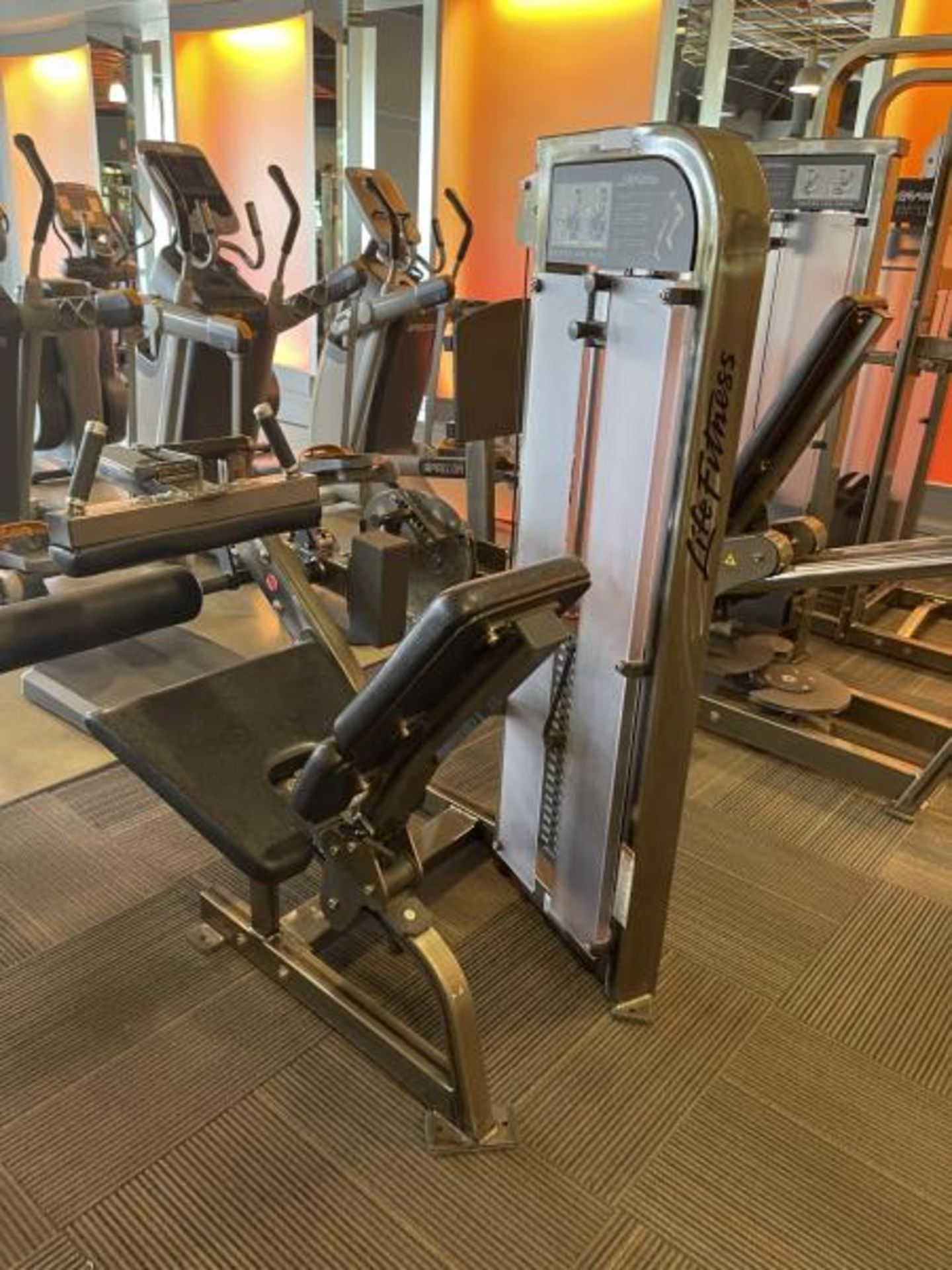 Life Fitness Seated Leg Curl M: PSSLCSE - Image 6 of 6