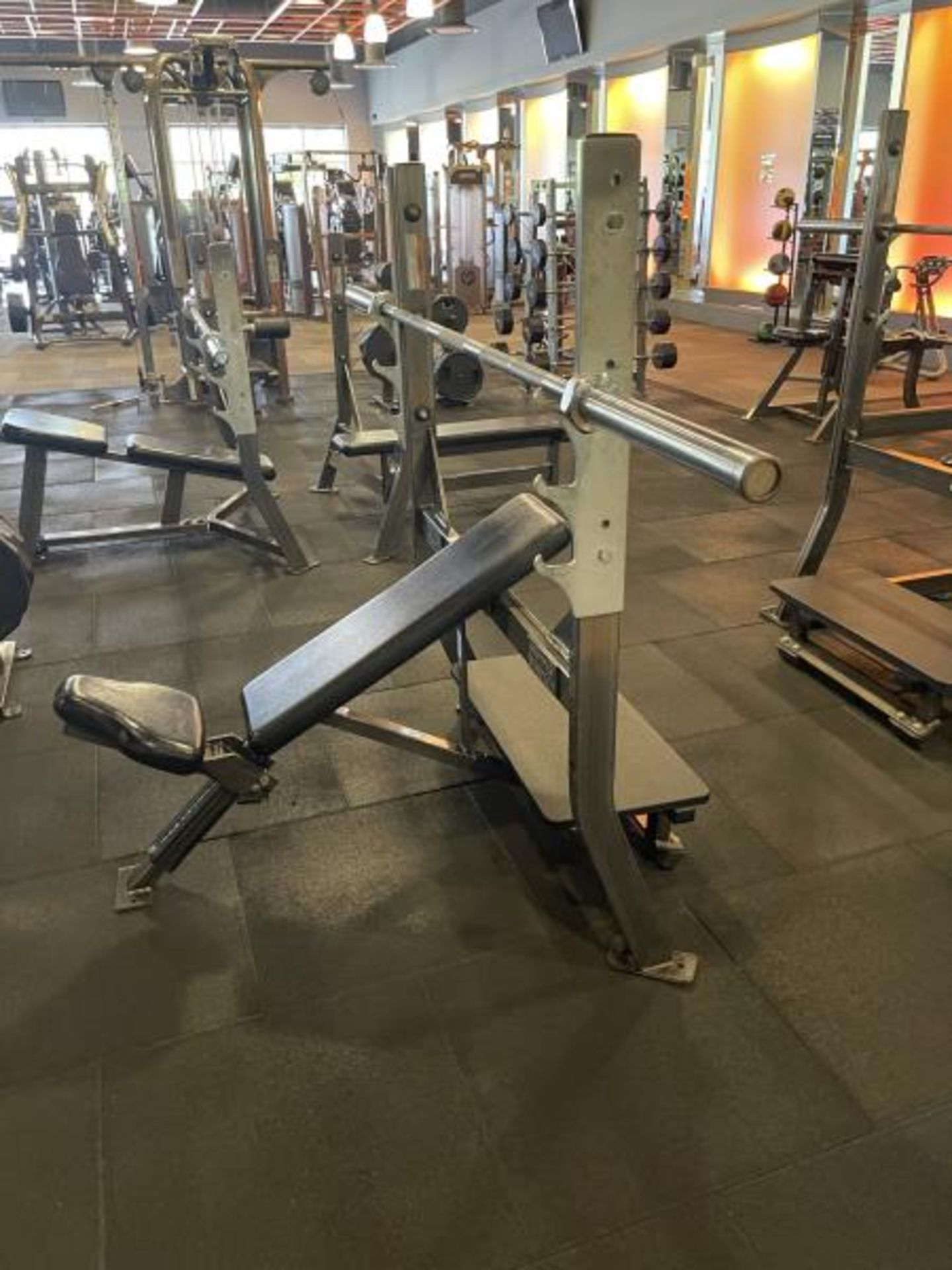Hammer Strength with Bench, Rack, Bars - Image 3 of 5