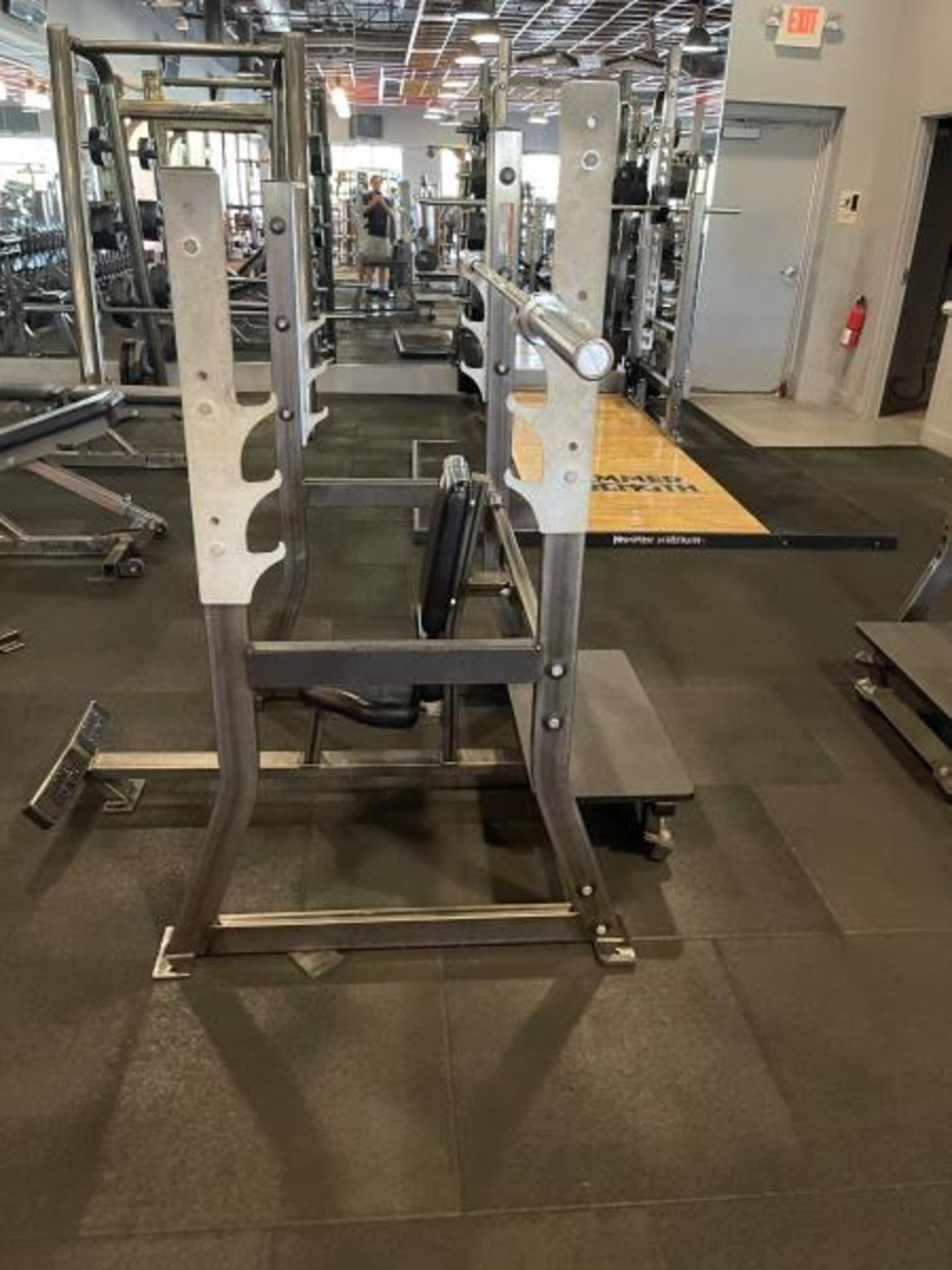 Hammer Strength Rack with Bar - Image 3 of 3