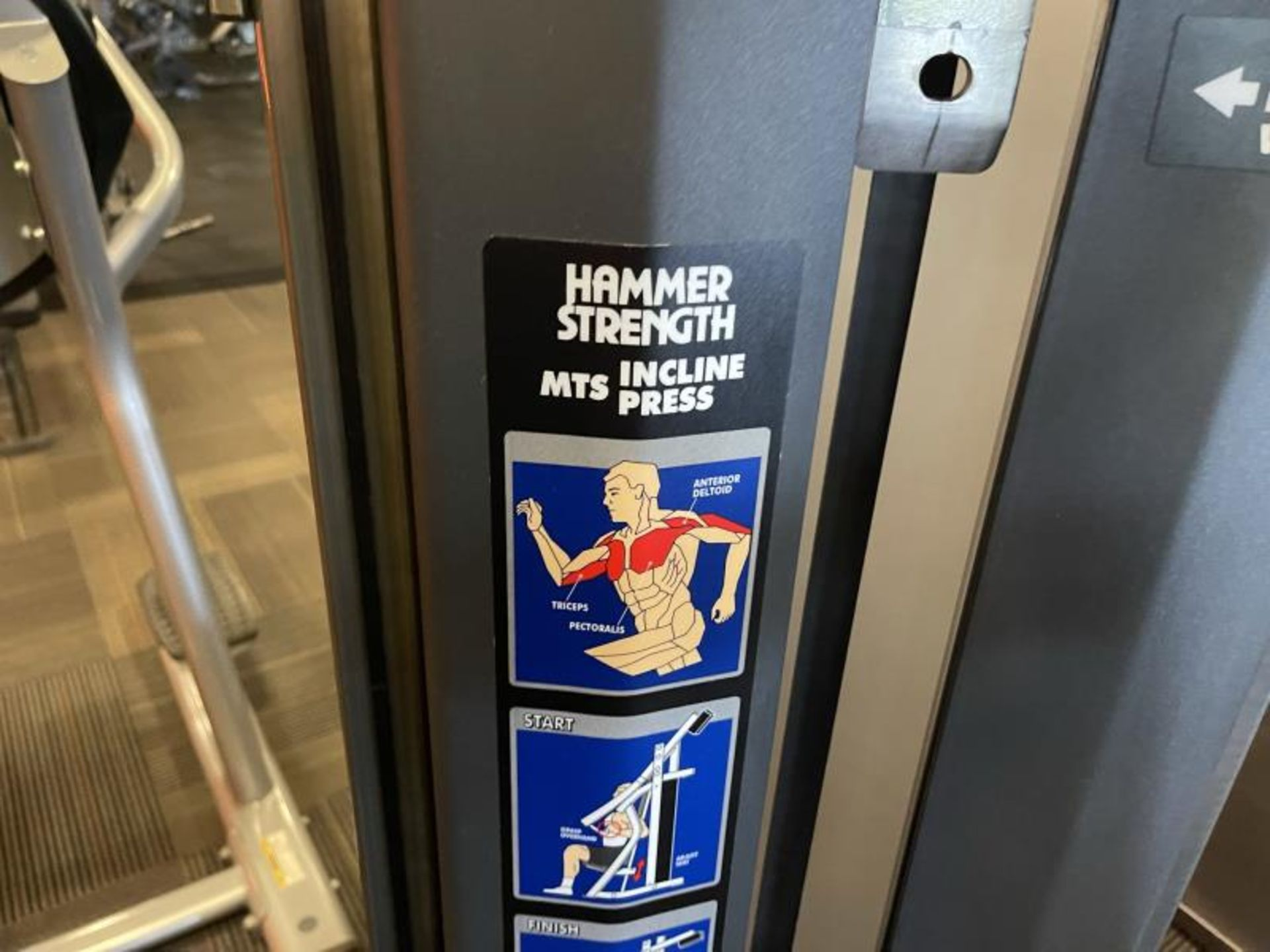 Hammer Strength MIS Incline Press M: MISIP - Image 5 of 5