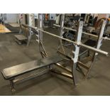 Hammer Strength Bench with Bar