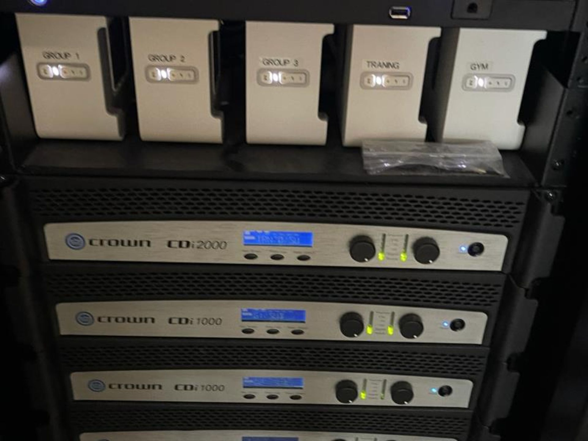 Electornics Cabinet by Strong , Made 2018 w/ Luma Network Box, OVRC Enabled LUM-500-DVR-16CH, (2) Wa - Image 16 of 18