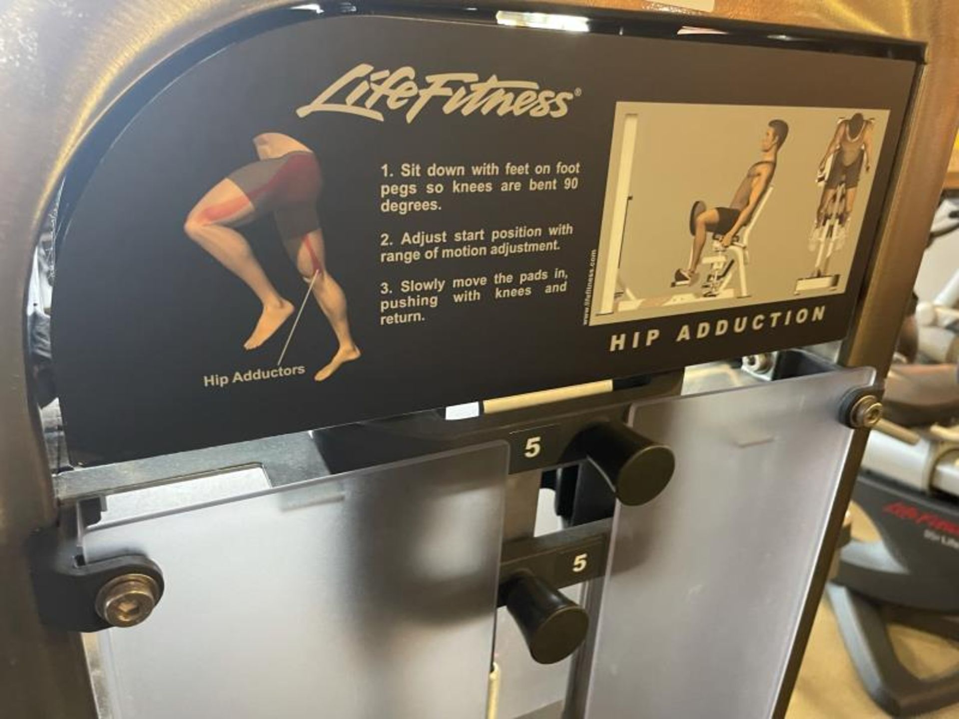 Life Fitness Hip Adduction M: PSHADSE - Image 5 of 5