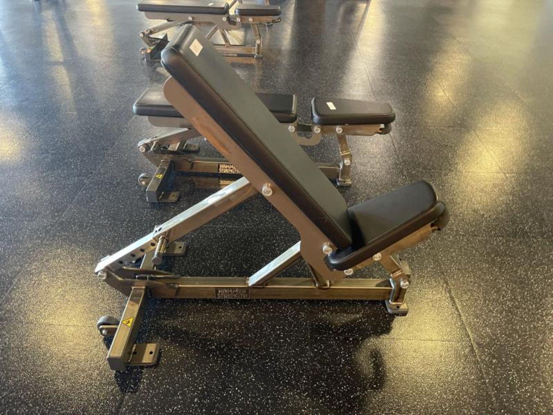 Hammer Strength Multi Adjustable Bench M: FWMAB - Image 2 of 4