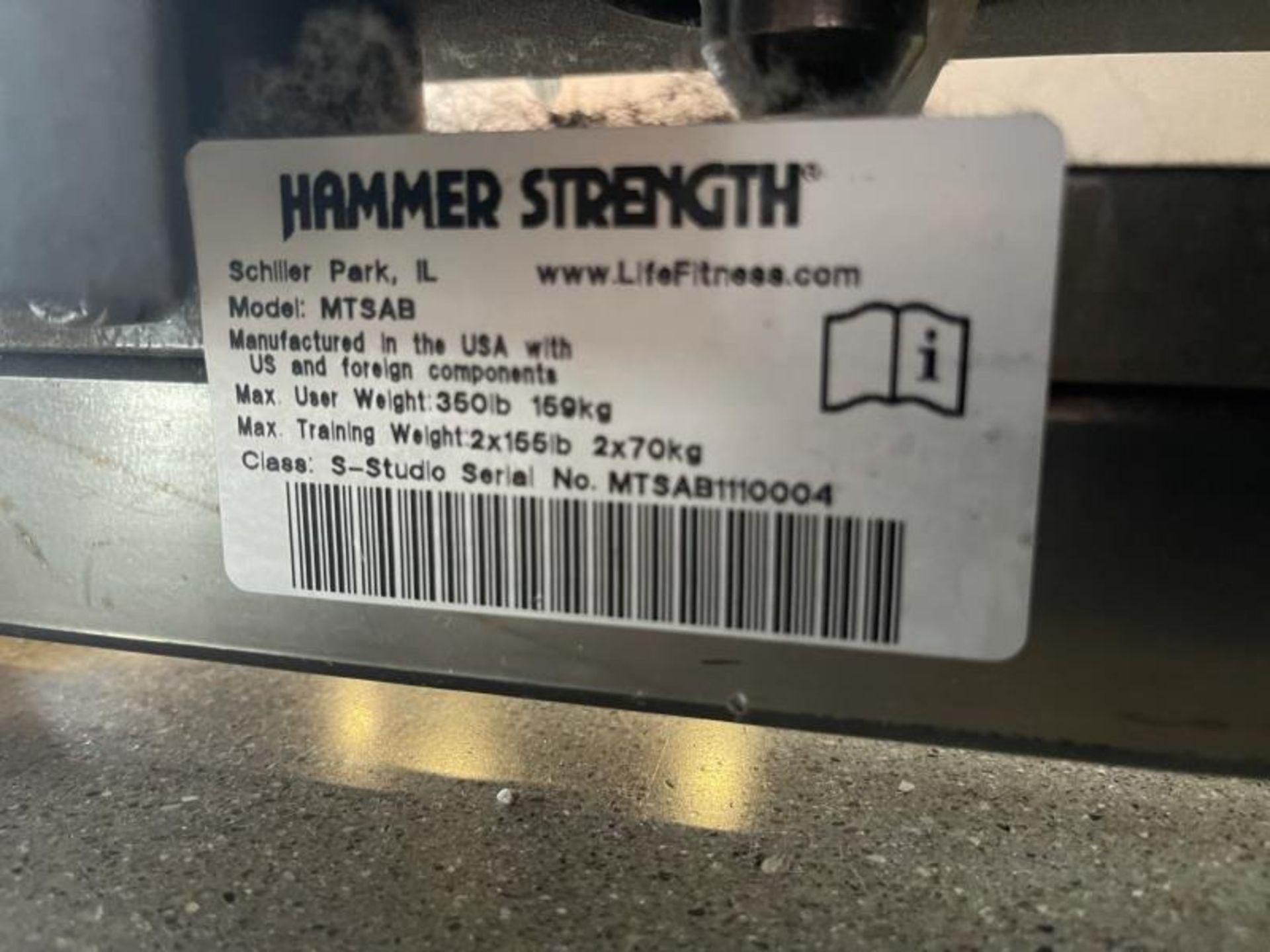 Hammer Strength MTS Abdominal Crunch M: MTSAB - Image 7 of 7