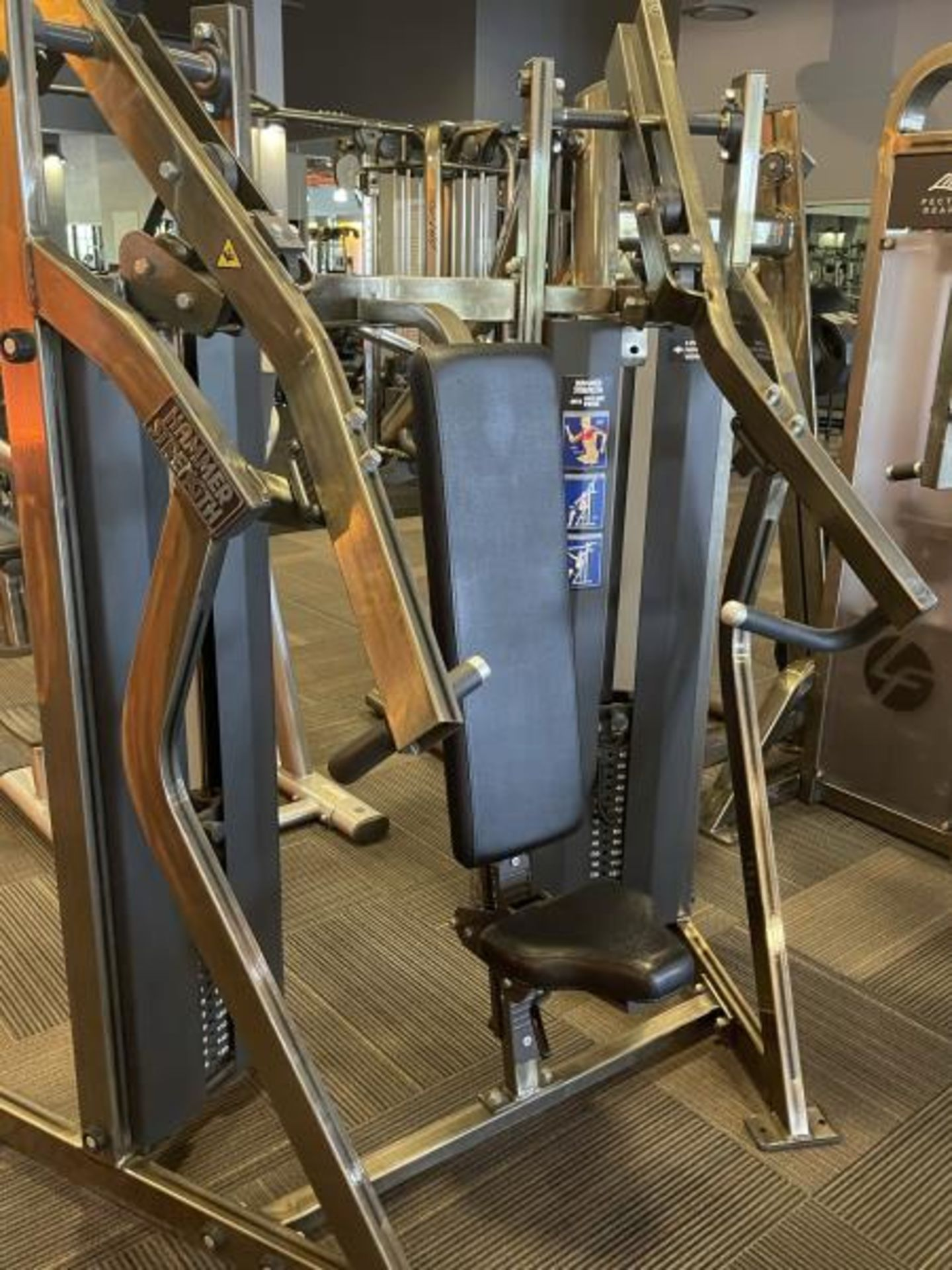 Hammer Strength MIS Incline Press M: MISIP - Image 3 of 5