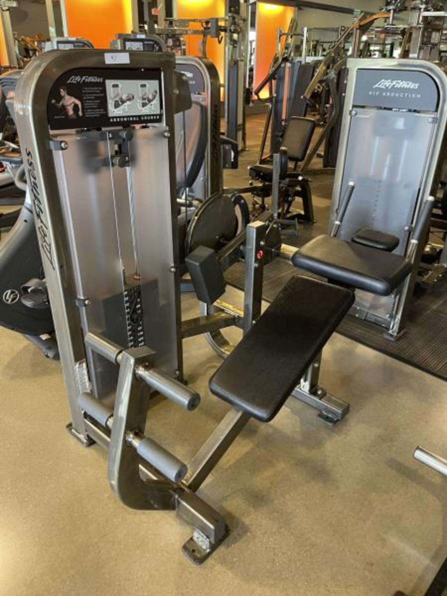 Life Fitness Abdominal Crunch M:PSABCSE