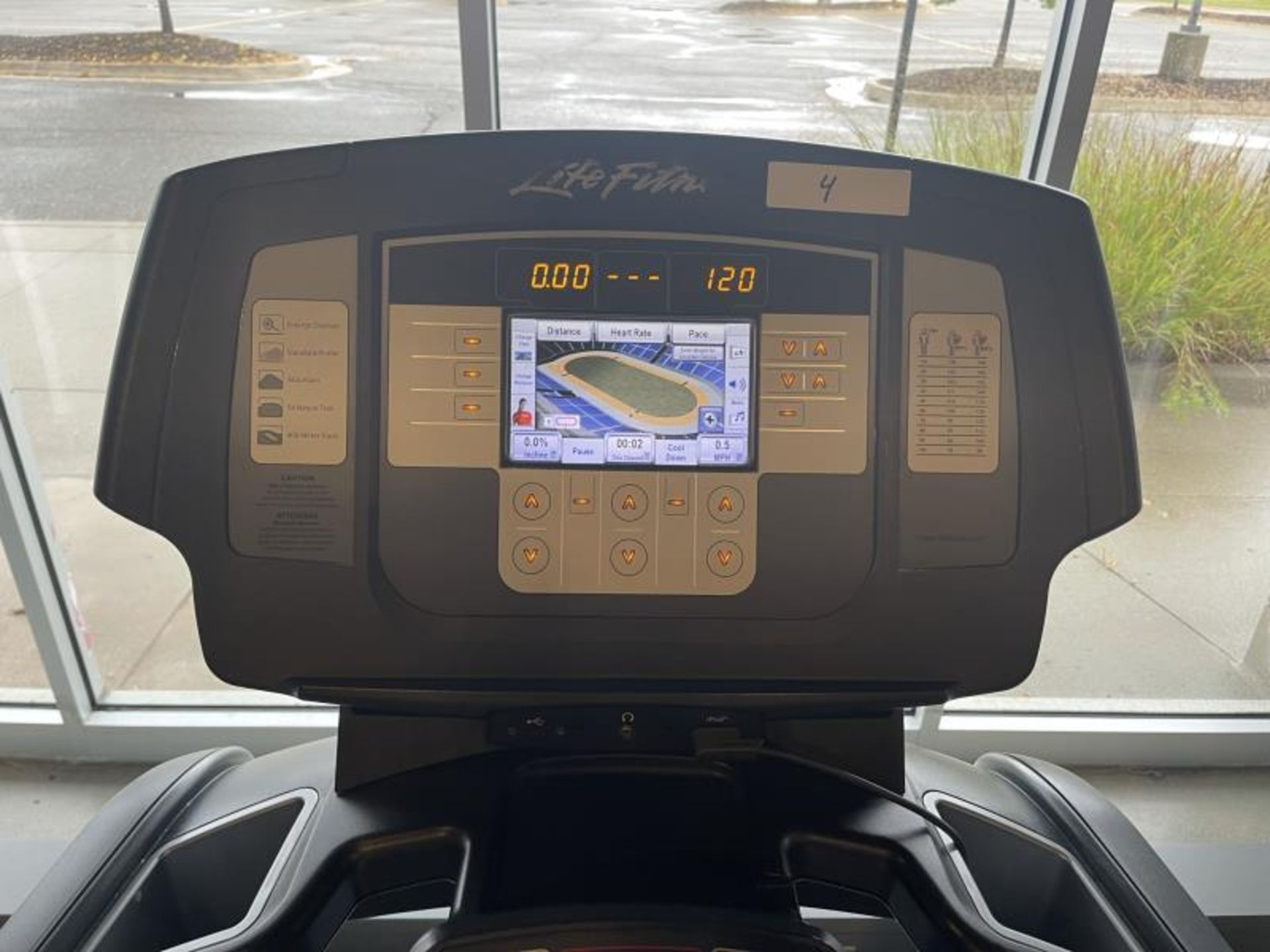 Life Fitness Treadmill M: 95T with Flex Deck, Shock Absorption System SN: TET108411 - Image 2 of 2