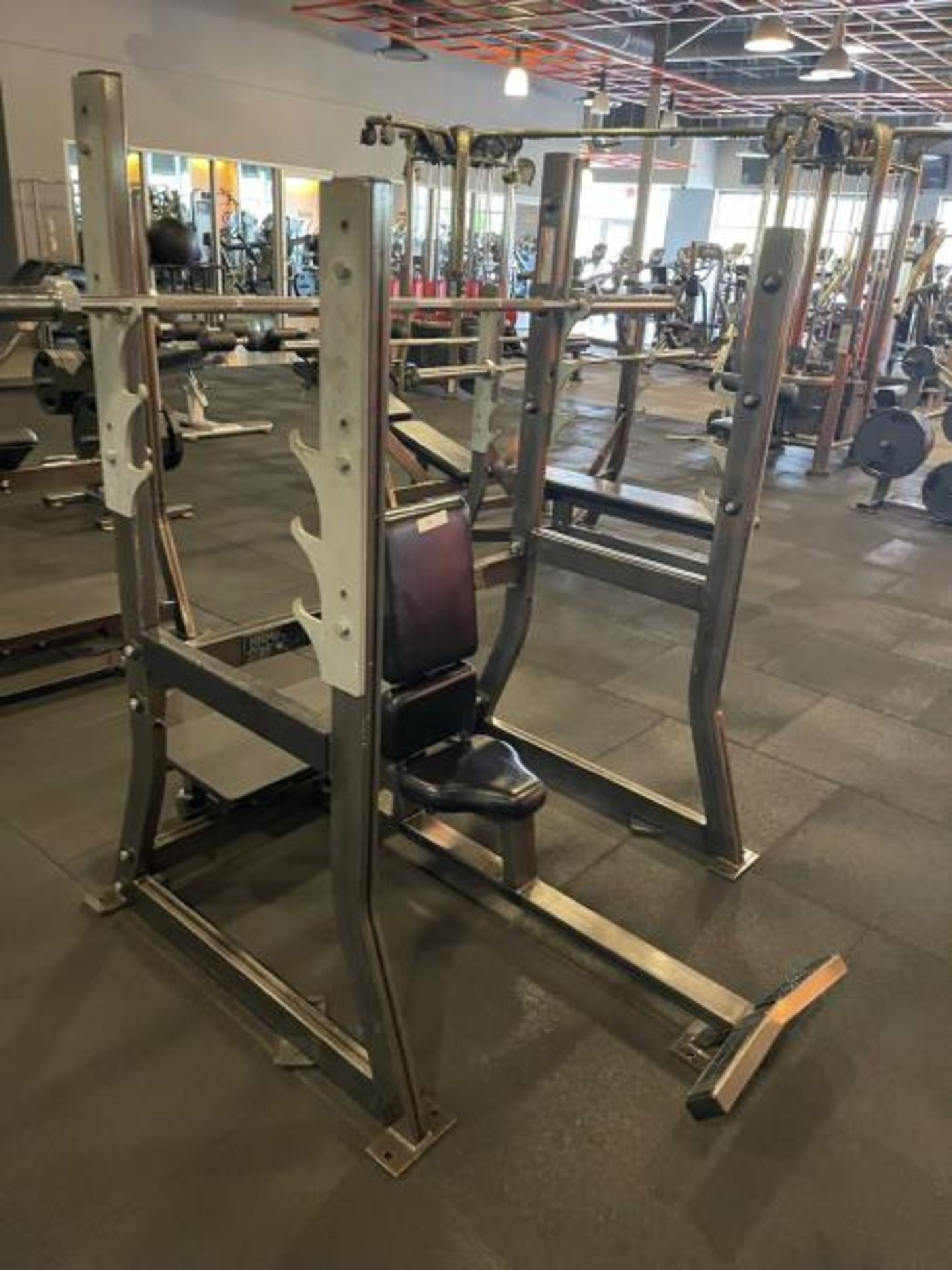 Hammer Strength Rack with Bar - Image 2 of 3