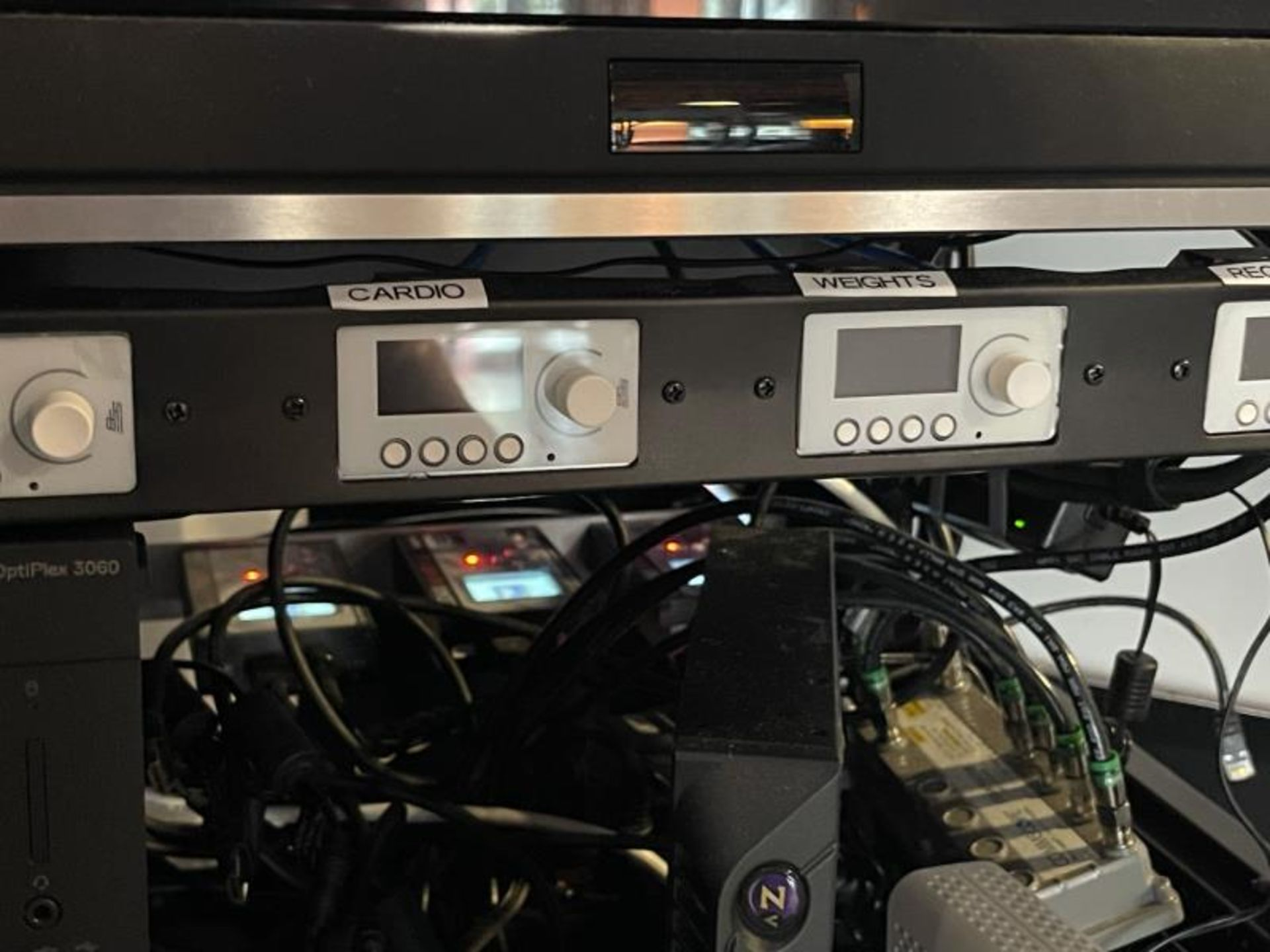 Electornics Cabinet by Strong , Made 2018 w/ Luma Network Box, OVRC Enabled LUM-500-DVR-16CH, (2) Wa - Image 8 of 18