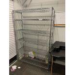 """Metal Wire Shelf Rack 4'x8""""x6'"""
