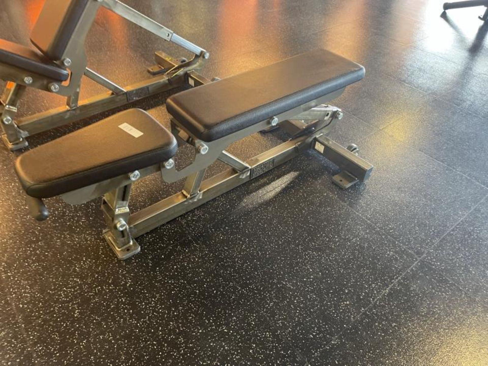 Hammer Strength Multi Adjustable Bench M: FWMAB