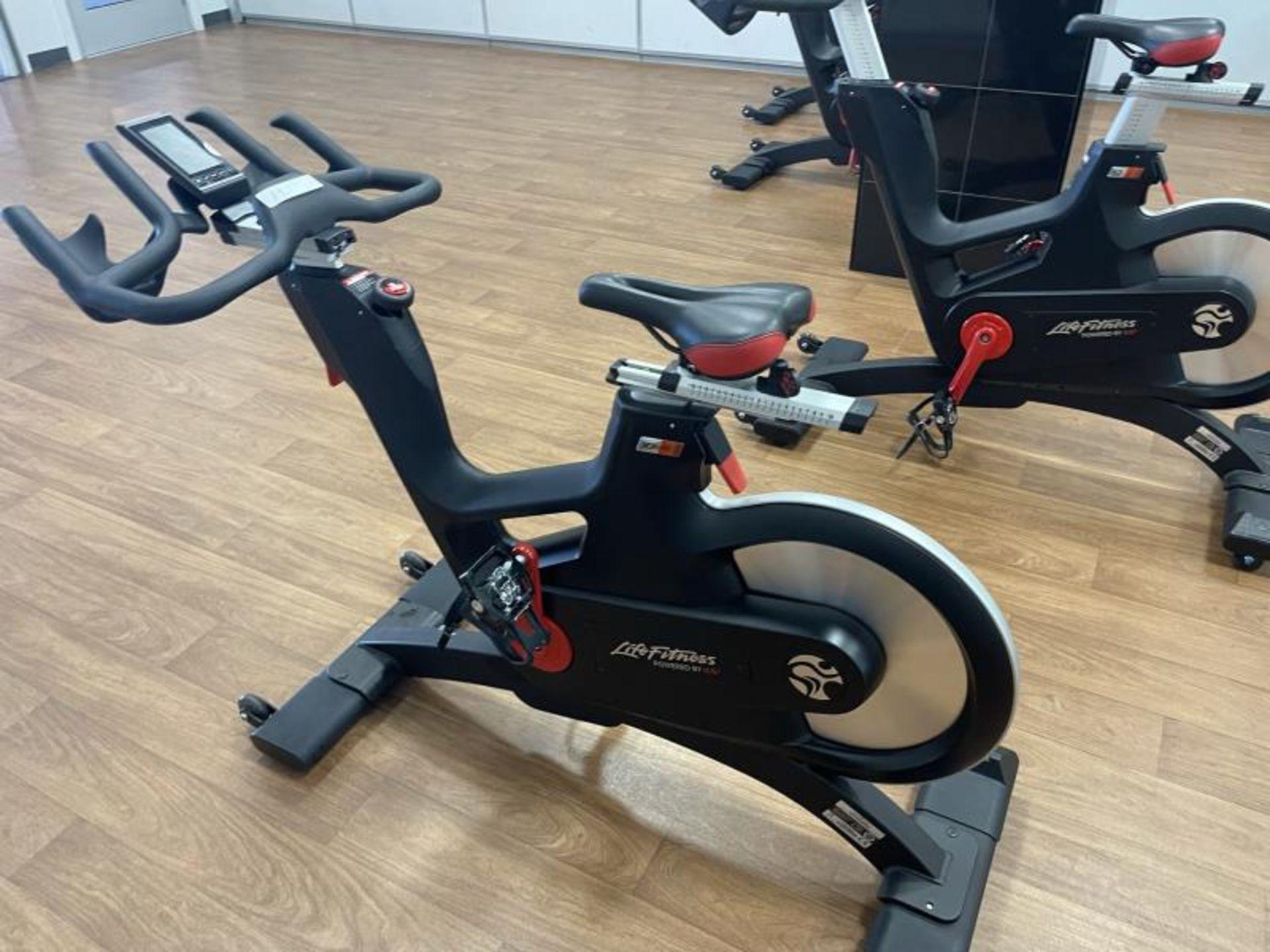 2018 Life Fitness IC7 Spin Bikes M: IC-LFIC7B2-01 - Image 3 of 5