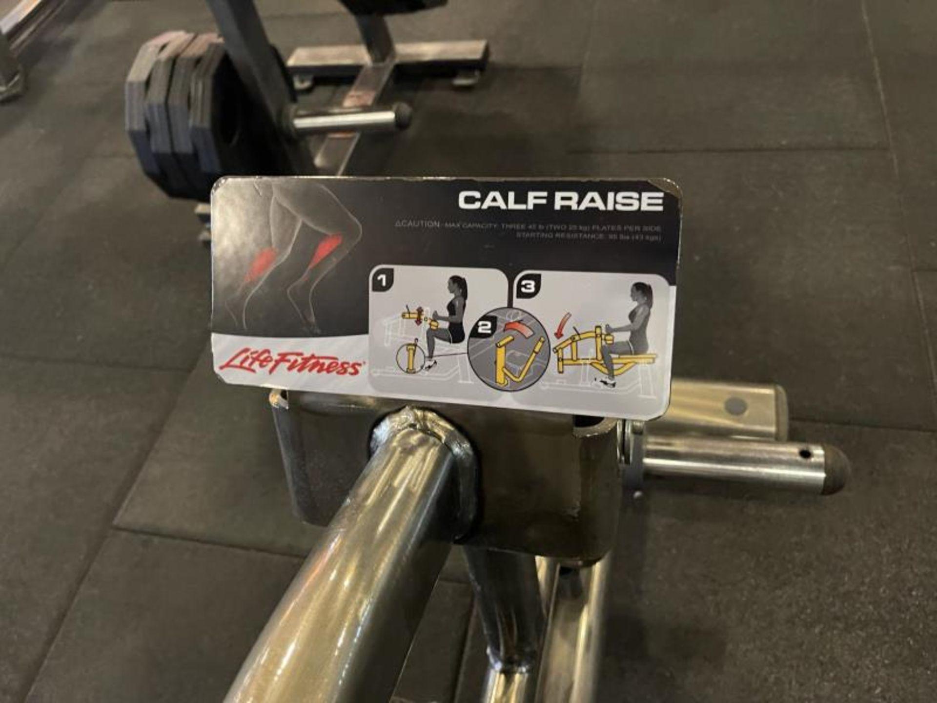Life Fitness Calf Raise M: SPLCALF - Image 3 of 5