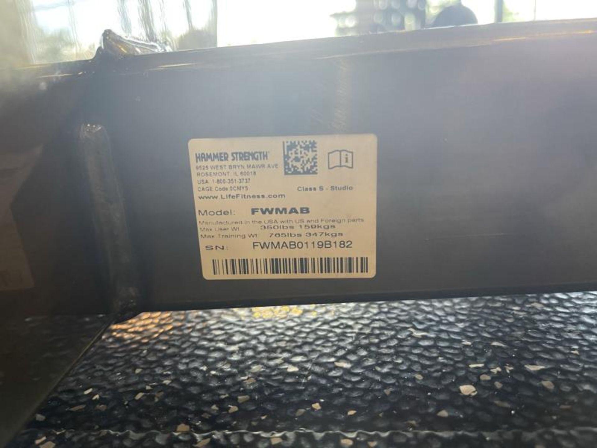 Hammer Strength Multi Adjustable Bench M: FWMAB - Image 4 of 4