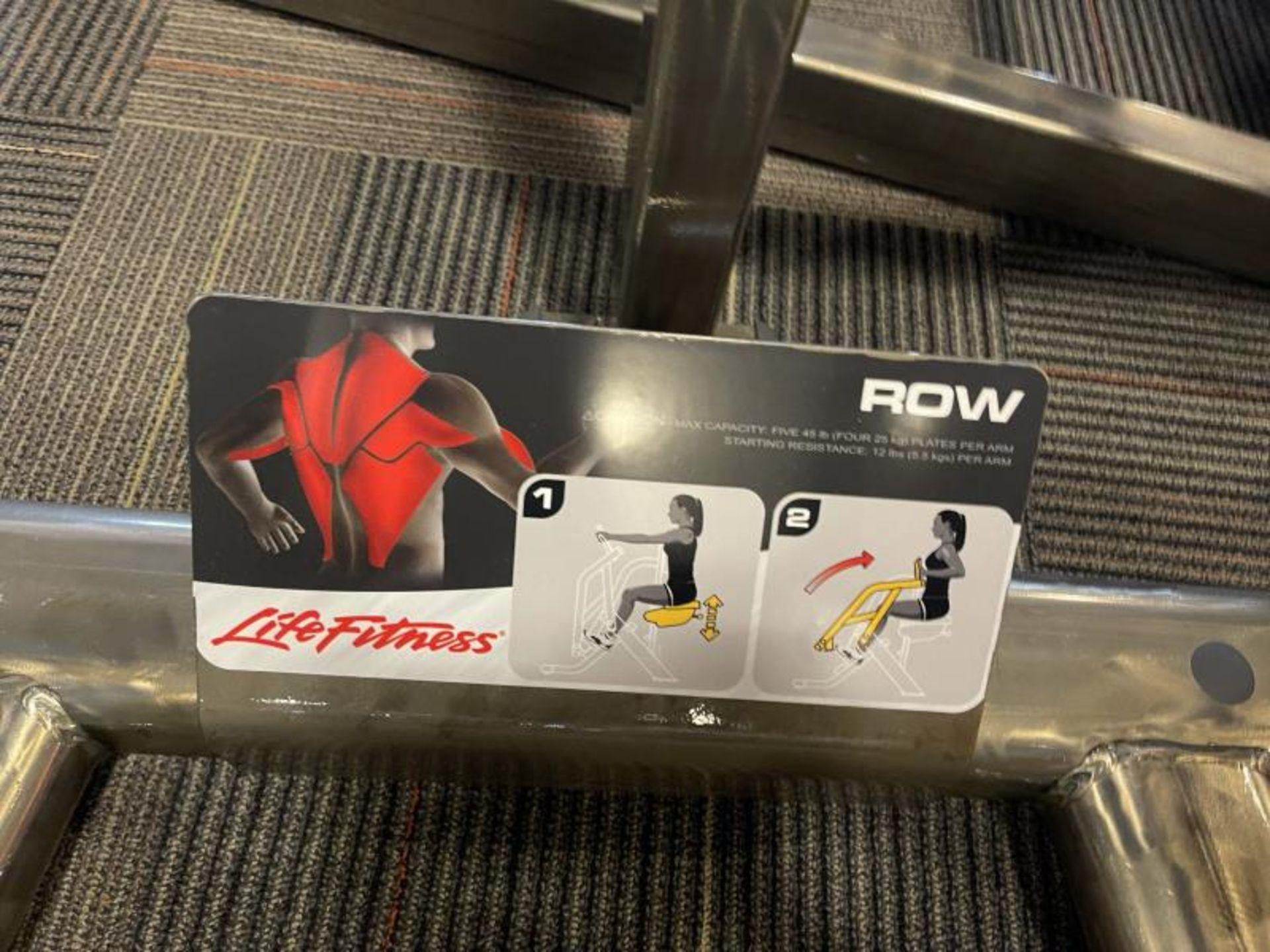 Life Fitness Row M: SPLROW - Image 4 of 4