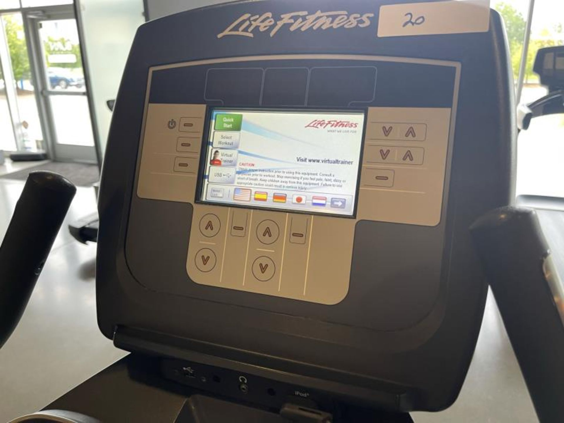 Life Fitness Exercise Bike M: 95CLifecycle, SN: CLV102815 - Image 5 of 5