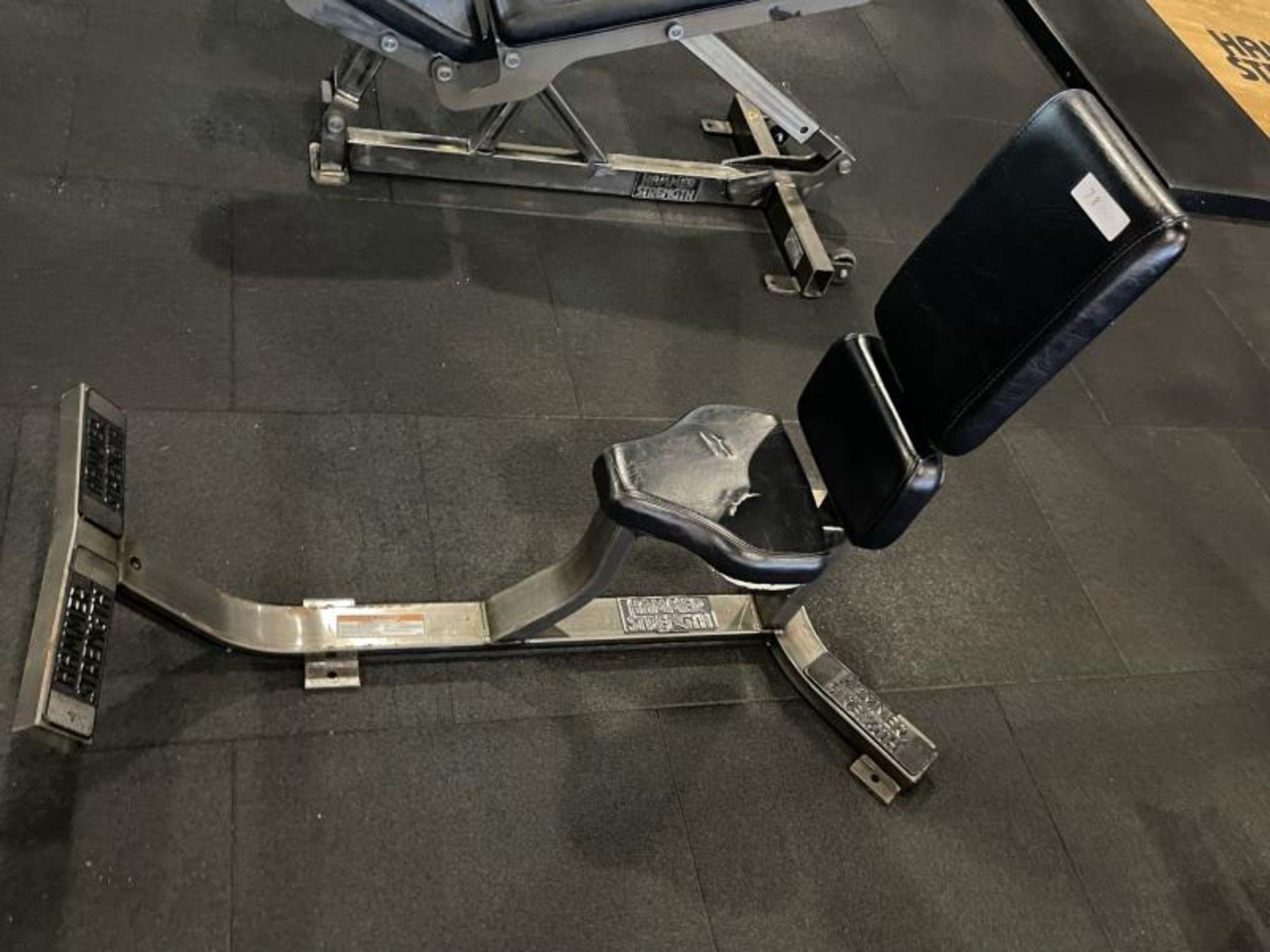 Hammer Strength Upright Bench