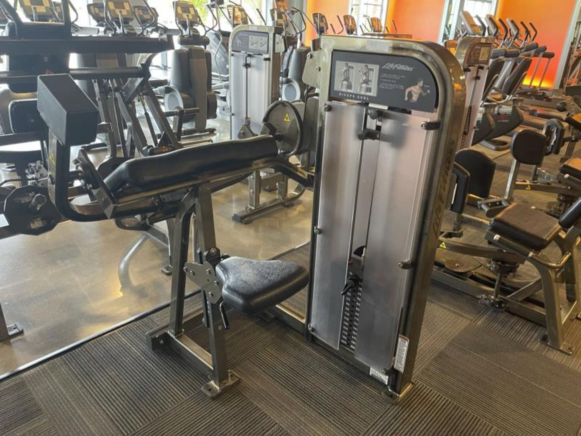 Life Fitness Triceps Extension M: PSBCSE