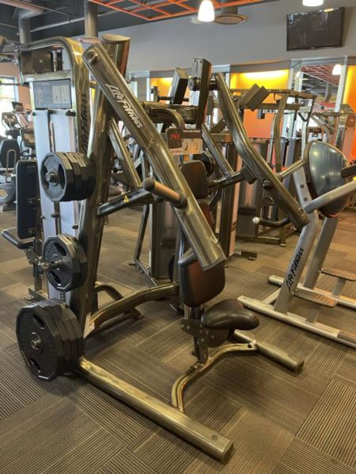 Incline Press with Iron Grip Weight Plates M: SPLIP - Image 2 of 6