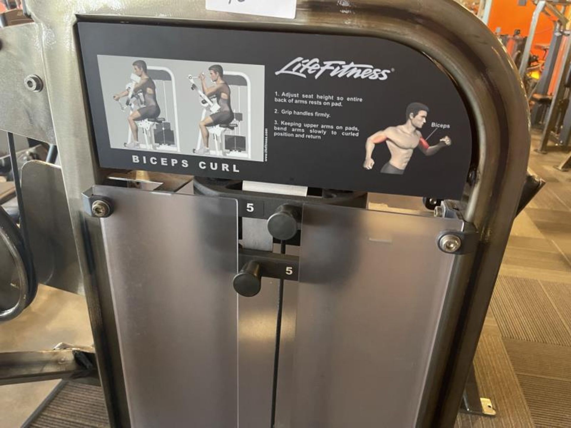 Life Fitness Triceps Extension M: PSBCSE - Image 2 of 6