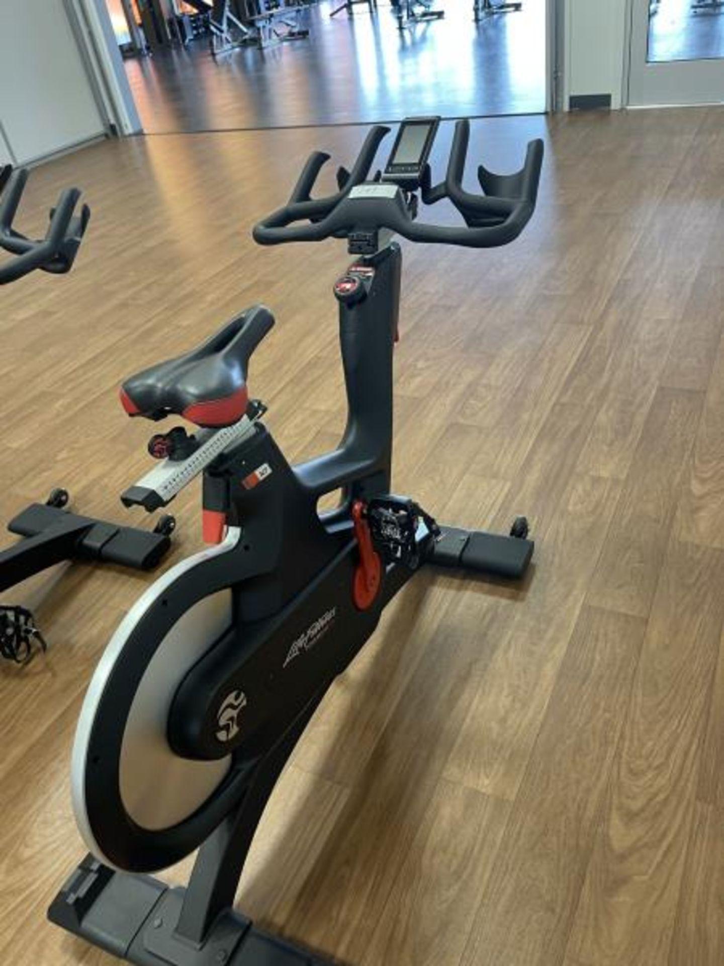 2018 Life Fitness IC7 Spin Bike M: IC-LFIC7B2-01 - Image 3 of 4