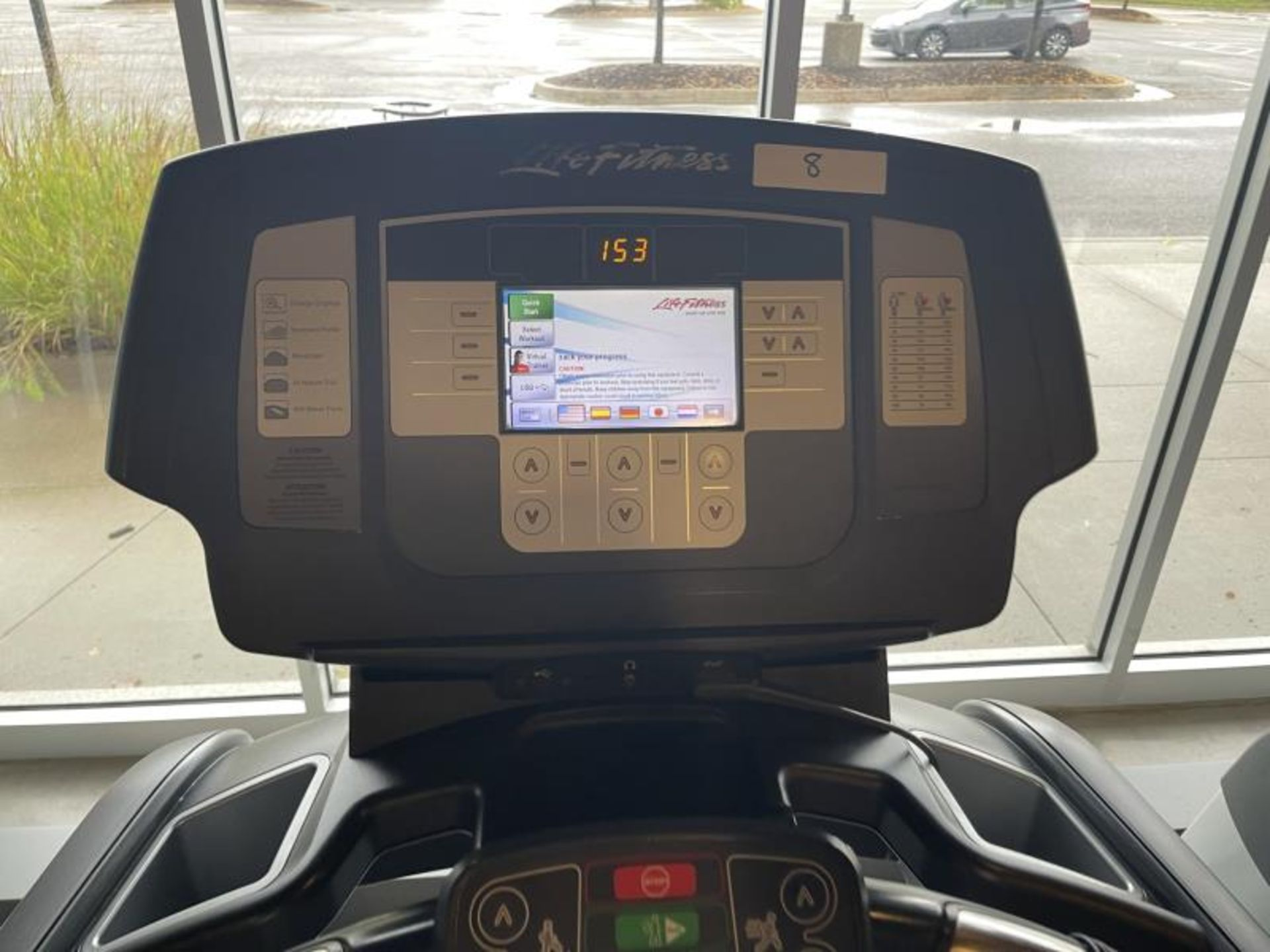 Life Fitness Treadmill M: 95T with Flex Deck, Shock Absorption System SN: TET107109 - Image 2 of 2