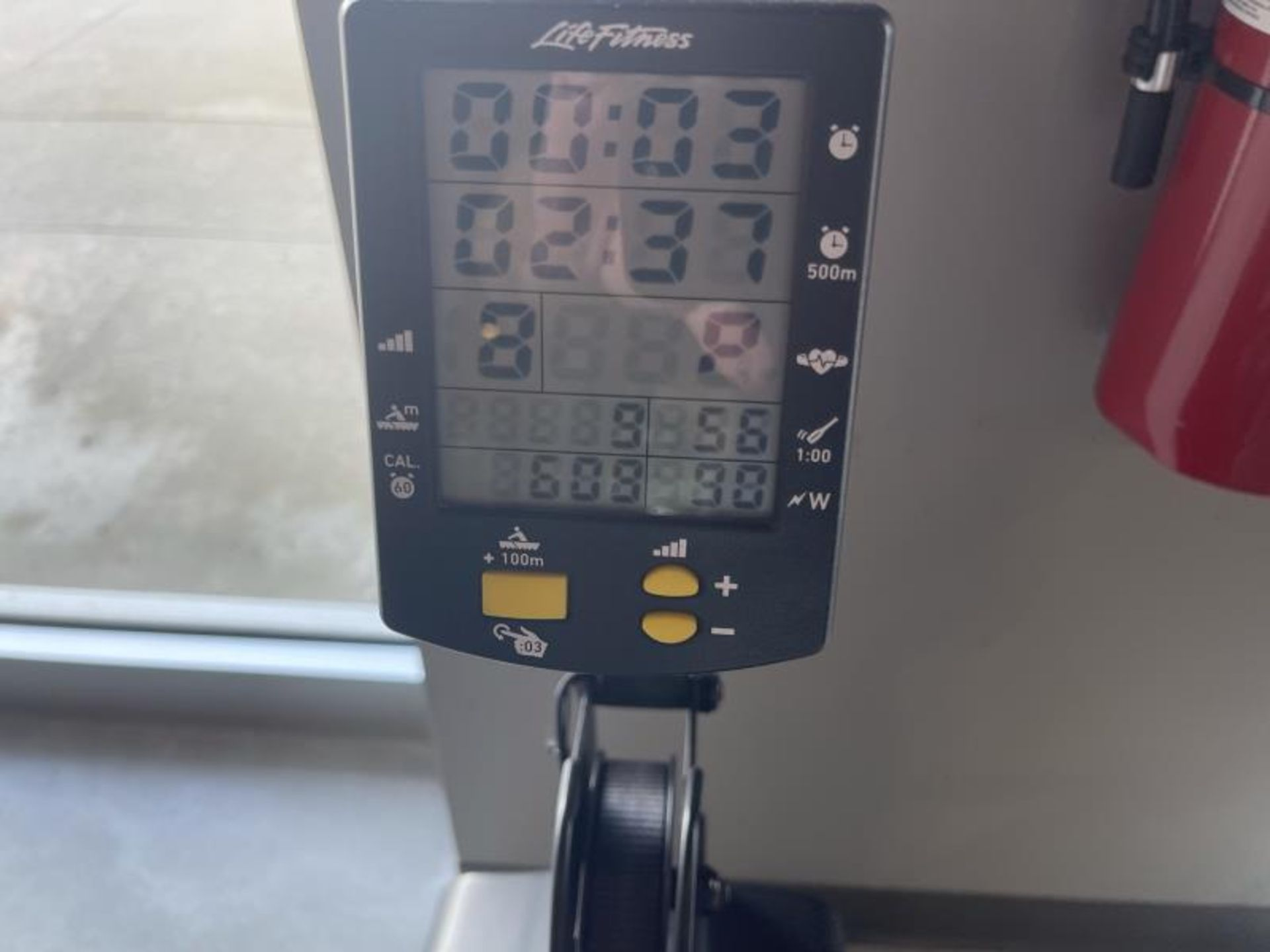 Life Fitness Rowing Machine M: GER-ALLLX-102 - Image 2 of 4